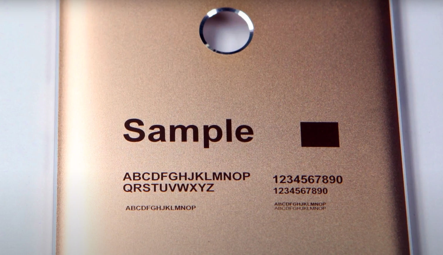 Knowledge About Laser Engraving Anodized Aluminum
